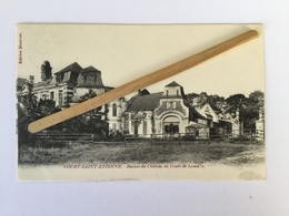 COURT-SAINT-ETIENNE»Ruines Du Château Du Comte De Lambotte»1900,Édit Materne. - Court-Saint-Etienne