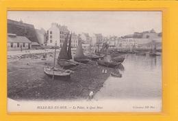 BELLE-ILE-EN-MER -56- Le Palais - Le Quai Macé - Belle Ile En Mer