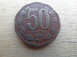 Chili  50  Pesos  1981  Km 219.1 - Chile