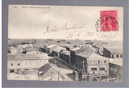 CHILE Punta Arenas Magallanes 1910  OLD POSTCARD - Chili