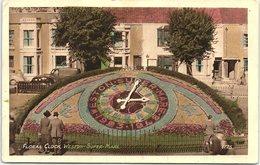 Floral Clock, Weston-Super-Mare, Somerset - Weston-Super-Mare