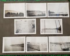 Lot De 23 Photos  35 Ille-et-Vilaine Cancale Bisquines Iles Chausey Aout 1937 - Cancale