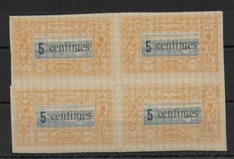 COTE DES SOMALIS - YVERT N° 28 ** MNH BLOC De 4 - Côte Française Des Somalis (1894-1967)