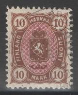 FAUX - FORGED - Finlande - YT 27 Oblitéré - 1885 - 1856-1917 Administración Rusa