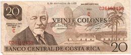 COSTA RICA - 20 COLONES DE1982 - Costa Rica