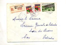 Lettre Recommandee Saint Dome Du Monts Sur Gard - Marcophilie (Lettres)
