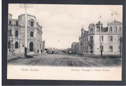CHILE Punta Arenas Bancos, Tarapaca  Ca 1910  OLD POSTCARD - Cile