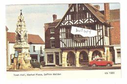 Saffron Walden Town Hall Market Place Kingsley 1960's -- 1970's Unused - England