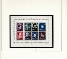 Portugal, 1949 730/37 Block 14, Die Dynastie Avis. MNH ** - Blocks & Kleinbögen