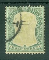 Montserrat: 1904/08   Device Of The Colony   SG24a   ½d     Used - Montserrat