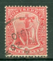 Montserrat: 1908/14   Device Of The Colony   SG36   1d     Used - Montserrat