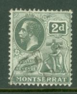 Montserrat: 1916/22   KGV   SG51   2d    Used - Montserrat