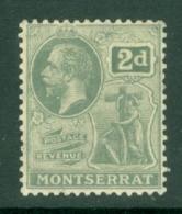 Montserrat: 1922/29   KGV   SG70   2d     MH - Montserrat