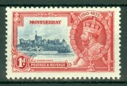 Montserrat: 1935   Silver Jubilee   SG94   1d   MH - Montserrat