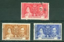 Montserrat: 1937   Coronation    Used - Montserrat