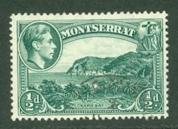 Montserrat: 1938/48   KGVI   SG101    ½d  [Perf: 13]    Used - Montserrat