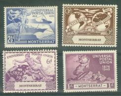 Montserrat: 1949   U.P.U.    MH - Montserrat
