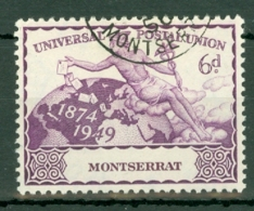 Montserrat: 1949   U.P.U.  SG119    6d   Used - Montserrat