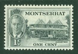 Montserrat: 1951   KGVI   SG123    1c    MH - Montserrat