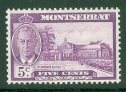 Montserrat: 1951   KGVI   SG127    5c    MH - Montserrat