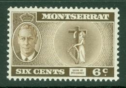 Montserrat: 1951   KGVI   SG128    6c    MH - Montserrat