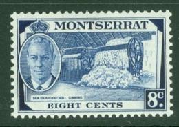 Montserrat: 1951   KGVI   SG129    8c    MH - Montserrat