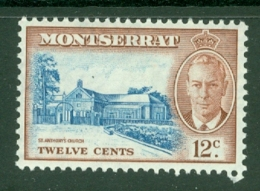 Montserrat: 1951   KGVI   SG130    12c    MH - Montserrat