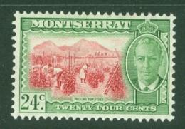 Montserrat: 1951   KGVI   SG131    24c    MH - Montserrat