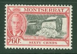 Montserrat: 1951   KGVI   SG132    60c    MH - Montserrat