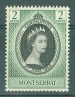 Montserrat: 1953   Coronation     MH - Montserrat