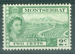 Montserrat: 1953/62   QE II - Pictorial   SG138    2c     MH - Montserrat