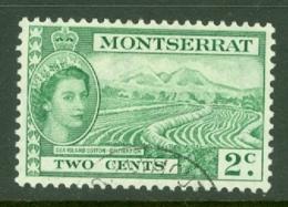 Montserrat: 1953/62   QE II - Pictorial   SG138    2c     Used - Montserrat