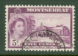 Montserrat: 1953/62   QE II - Pictorial   SG141    5c     Used - Montserrat