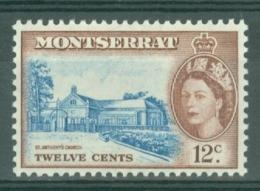 Montserrat: 1953/62   QE II - Pictorial   SG144    12c     MH - Montserrat