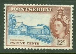 Montserrat: 1953/62   QE II - Pictorial   SG144    12c     Used - Montserrat