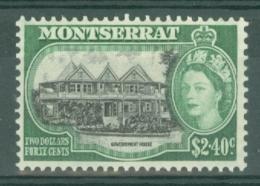 Montserrat: 1953/62   QE II - Pictorial   SG148    $2.40     MH - Montserrat