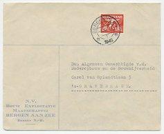 Firma Envelop Bergen Aan Zee 1942 - Bouwmaatschappij - Zonder Classificatie
