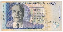 MAURITIUS - 50 RUPEES DE 2003. - Costa Rica