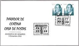 PARADOR DE CORTINA - CASA DE POSTAS. House Posts. Azuqueca De Henares, Guadalajara, 2002 - Correo Postal