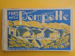 CARNET COMPLET 15 CPA : FORT DE LA POMPELLE - Autres