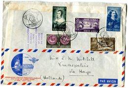 SOUTH-AFRICA 1952 Enveloppe To The NETHERLANDS(Memory Jan Van Riebeeck's Landing)BARGAIN.!! - Luchtpost