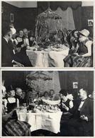 3 Grandes Photos Originales Soirée Déguisée, Fête Entre Amis Ou Plutôt Orgie Vers 1920/30 Bourgeois En Folie & Cotillons - Anonymous Persons