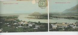 OCÉANIE - NOUVELLE CALEDONIE - THIO - Carte Panoramique 2 Volets Séparés En 2 CPA - Nuova Caledonia