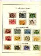 Belgique Chemin De Fer Collection ° -> 1987 - Chemins De Fer