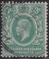 East Africa & Uganda   .   SG  .   66a       .    O   .      Cancelled    .   /    .    Gebruikt - East Africa & Uganda Protectorates