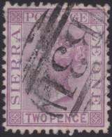 Sierra Leone     .   SG    .      12    .    O   .      Cancelled    .   /    .    Gebruikt - Sierra Leone (...-1960)