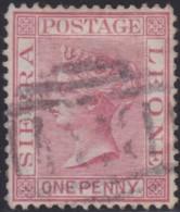 Sierra Leone     .   SG    .      17       .    O   .      Cancelled    .   /    .    Gebruikt - Sierra Leone (...-1960)