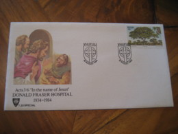 VHUFULI 1984 Donald Fraser Hospital Tree Stamp Cancel Cover VENDA South Africa Area - Venda