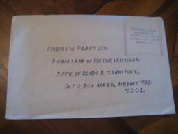 BEACONSFIELD 1993 Tasmania Postage Paid Label On Cover AUSTRALIA - 1990-99 Elizabeth II