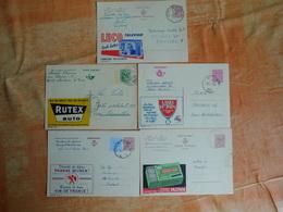 Lot De 5 Entiers Postaux Publibel (M7) - Publibels
